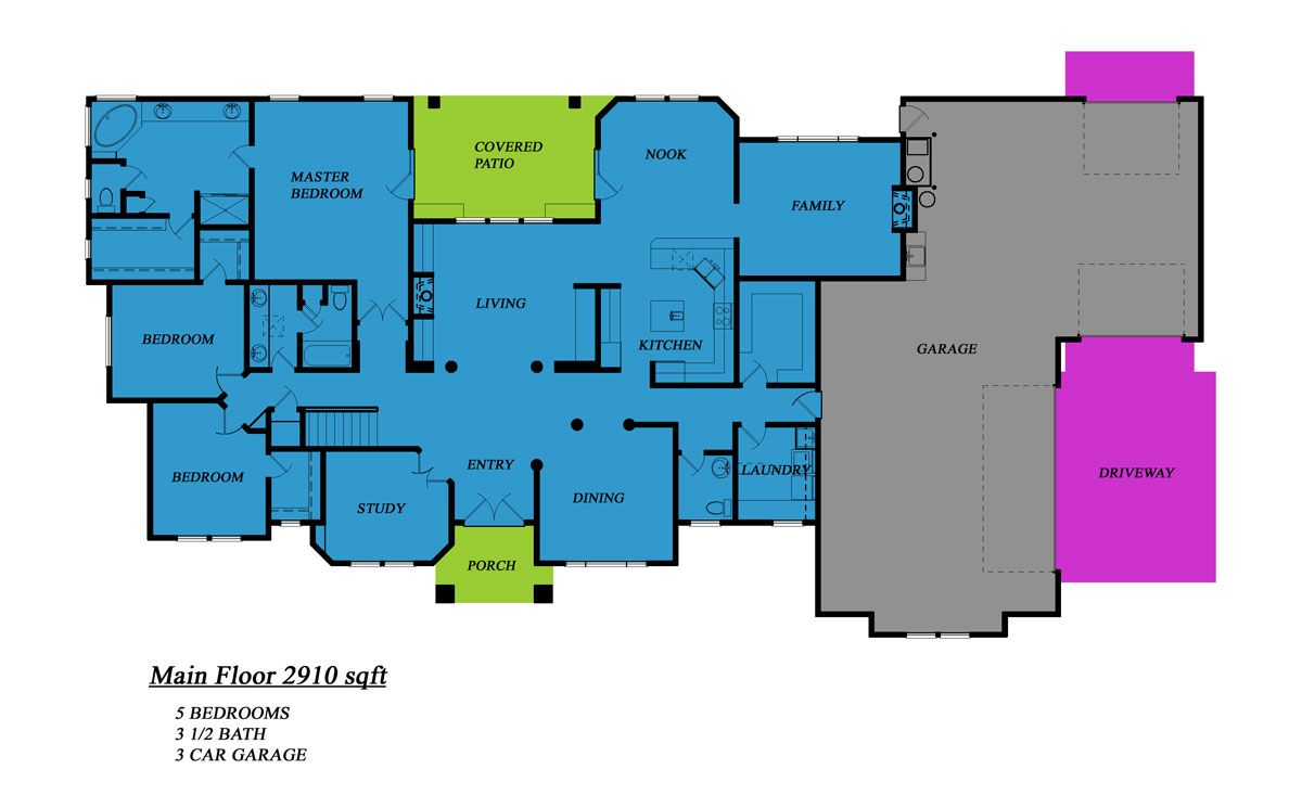 5 Bedroom House 4 346 Square Feet Etruscan House Plans