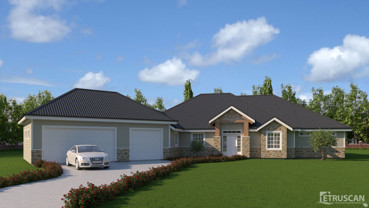 3 bedroom house 2 641 square feet etruscan house plans for House plans with virtual tours