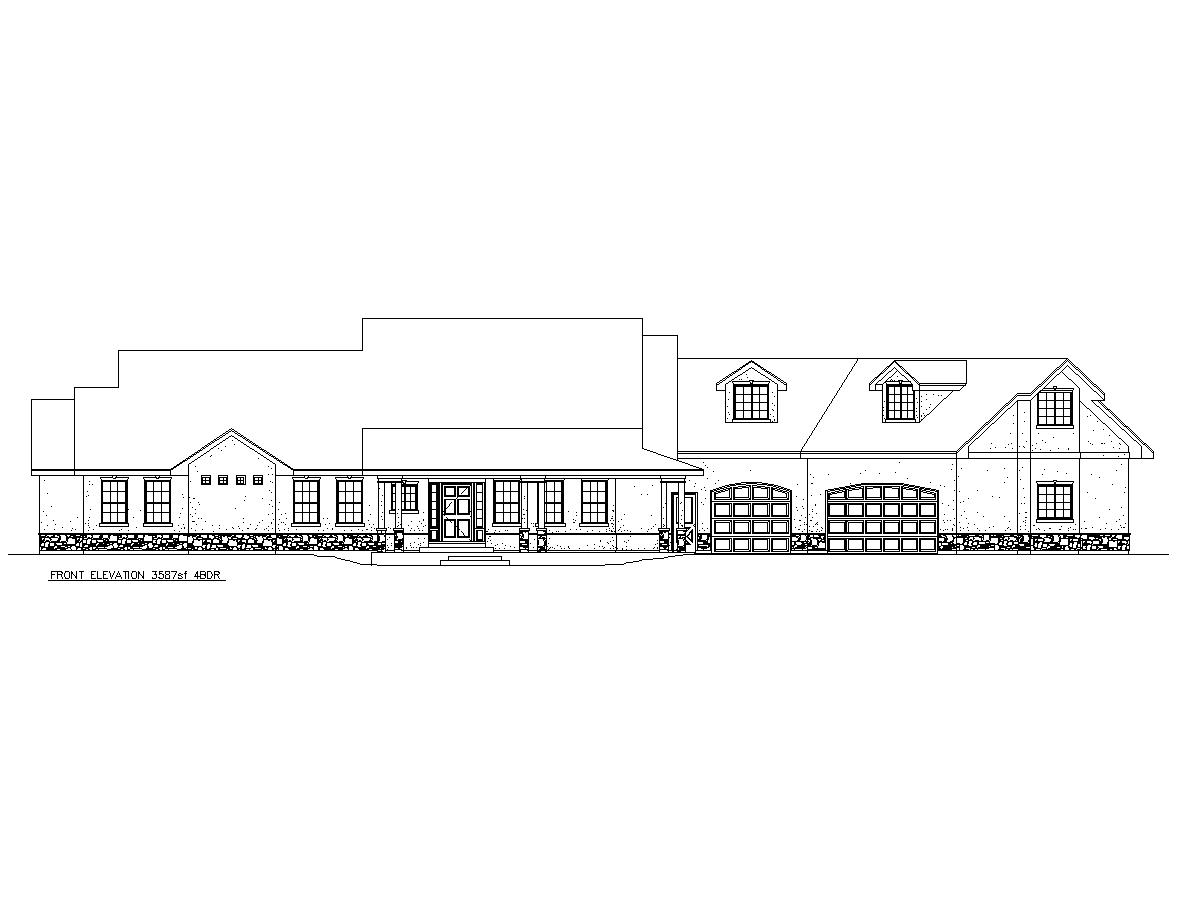 4 bedroom house 3 587 square feet etruscan house plans for Virtual tour of house plans