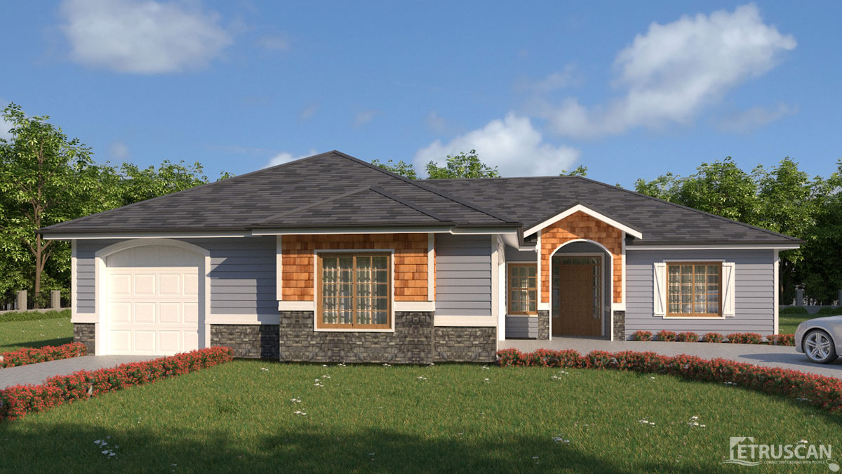 3 bedroom house 1 560 square feet etruscan house plans for Virtual tour house plans